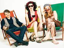 Bild: Tr�um weiter - Die drei Damen - Lisa Wahlandt (voc), Andrea Hermenau (p, voc), Christiane �ttl (b, voc)