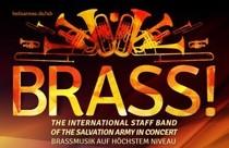 Bild: BRASS! THE INTERNATIONAL STAFF BAND OF THE  SALVATION ARMY IN CONCERT - Brassmusik auf h�chstem Niveau