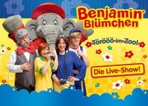"""Bild: Benjamin Bl�mchen """"T�r�� im Zoo"""" - Kinder-Musical f�r die ganze Familie"""
