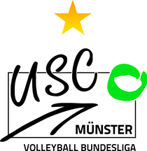 Bild: USC M�nster - VC Wiesbaden