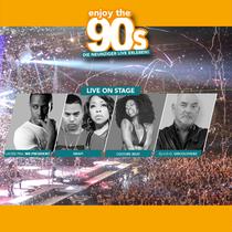 Bild: Enjoy the 90�s - Live on stage: SNAP!, Layzee FKA Mr. President, Culture Beat
