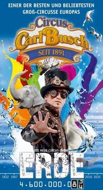 Bild: Circus Carl Busch - B�blingen - Die neue Circus-Show Erde