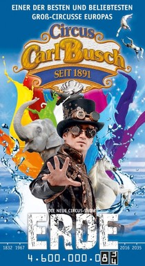 Bild: Circus Carl Busch - G�ppingen - Die neue Circus-Show Erde