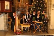 Bild: Alpenl�ndischer Advent - Saitenmusik Kronwitter, Einharter Dreigesang, Franz Wohlfahrt, Mundartrezitation