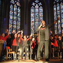 Bild: �Voices United� Gospelchor! - unter der Leitung von Jeffrey Staten