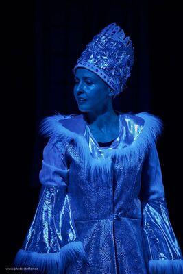 Bild: Die Schneekönigin - in russischer Sprache