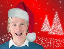 Bild: Ich glaub mich knutscht ein Weihnachtsmann! - So! Dann ist es wieder so weit!