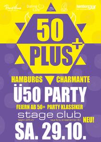 Bild: 50PLUS - Hamburgs neue, charmante �50 PARTY