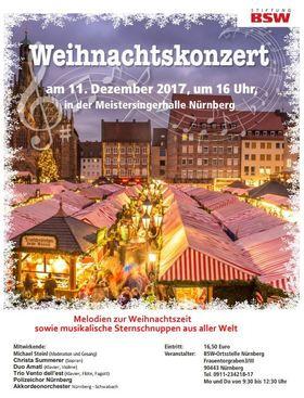 Bild: Weihnachtskonzert - der Stiftung Bahn - Sozialwerk (BSW)