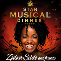 Bild: Star Musical Dinner - Mit Zodwa Selele, dem Star aus Sister Act, and friends