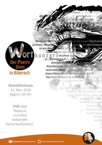 Bild: Wortkonzert - Der Poetry Slam in Biberach