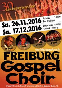 Bild: 30 Jahre Freiburg Gospel Choir - mit Malcolm Green, Tiza B. und Band