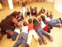 Bild: Theaterdialog - Dialog zu Vom ganzen Jahr, dem L�ffel und dem Wiedersehen