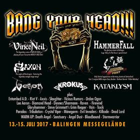 Bild: Bang Your Head!!! Festival 2017 - Kombiticket (3 Tage) 2017