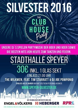 Bild: The Club House Party - Silvester 2016