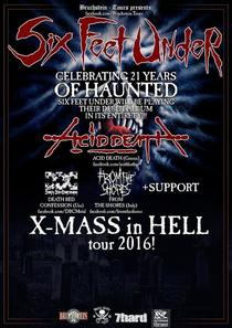 Bild: Six Feet Under - XMAS IN HELL TOUR � 2016