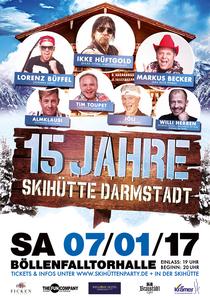 Bild: 15 Jahre Skihütte Darmstadt - Das Beste aus Malle & Apres Ski Live