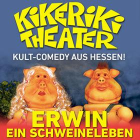 """Bild: Kikeriki Theater - mit: """"Erwin - Ein Schweineleben"""""""