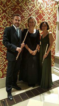 Bild: Sommerkonzert zugunsten des Orgelneubaus - Venezianische Barockmusik für 2 Flöten und Cembalo