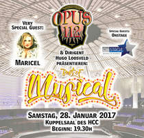 Bild: OPUS112 - Best of Musical - Das Konzert im Kuppelsaal von OPUS112. Special Guests: Maricel & OnStage