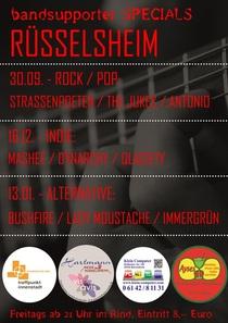 Bild: Bandsupporter Special Rüsselsheim - Best of Indie - Masheé / Dynarchy / Qlaciety