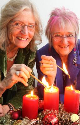 Bild: Monika Kampmann & Ingrid Ittel-Fernau - K�lsche Weihnacht