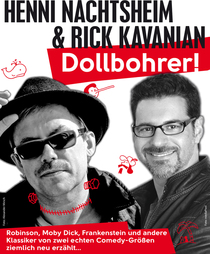 Bild: Henni Nachtsheim & Rick Kavanian - Dollbohrer...goes Christmas