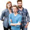 Bild: The Comedy Red Pack - Marcel Mann, Lena Liebkind & Andreas Weber